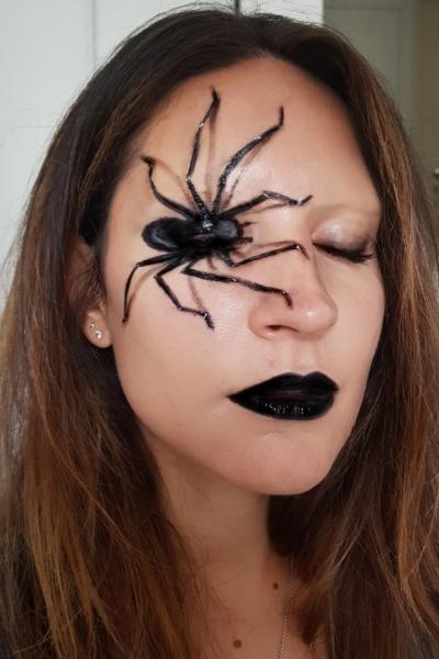 araignée makeup