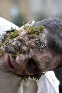 Zombie infecté verdure