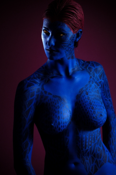 Mystic body paint