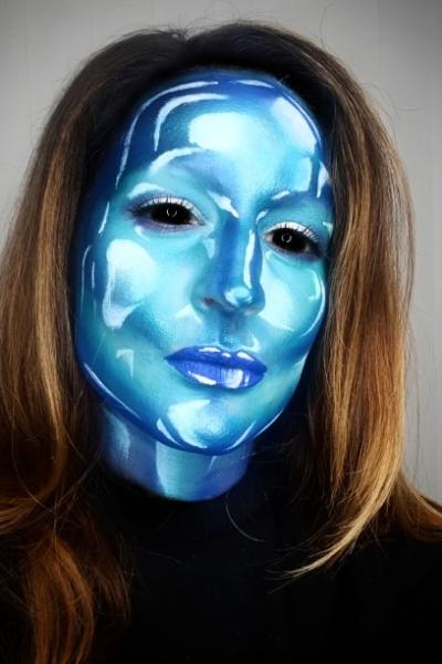 Face painting - Plastic Alien