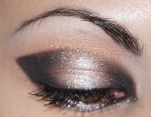 Maquillage de soirée - dégradé lumière