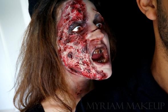 Zombie attaque