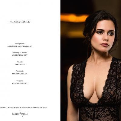 Edito Paloma Casile maquillage