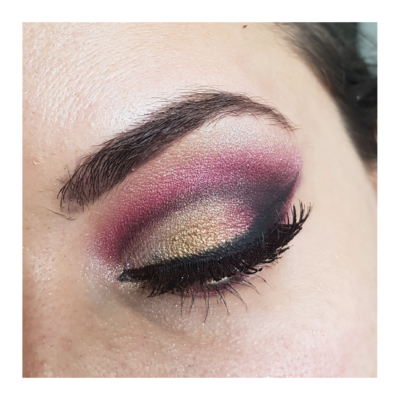 Oriental rose et doré 3